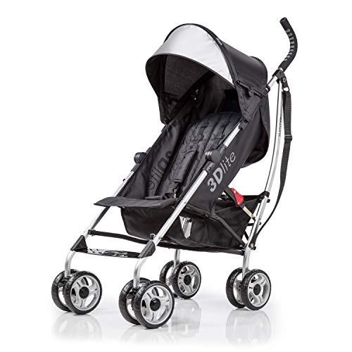 Summer Infant 3D Lite Convenience Stroller - Black