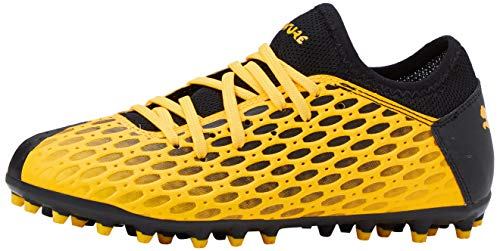 PUMA Future 5.4 MG JR, Botas de fútbol Unisex niños, Amarillo (Ultra Yellow Black), 34 EU