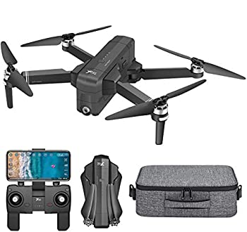 X7 Drones with 4K Camera for Adults,5G wifi F11Pro Quadcopter Brushless Motor,GPS Return Home,Follow Me,Trajectory Flight,30mins Li-Battery and Carrying Case