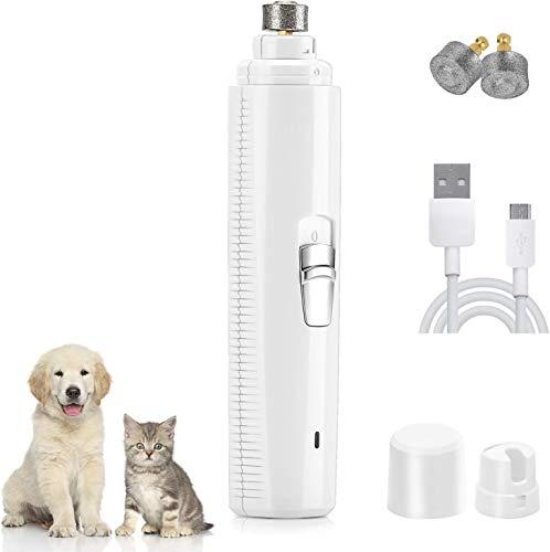 PETTOM Corta Uñas de Perro Electrico Cortauñas Gato Lima de Uñas Perros...