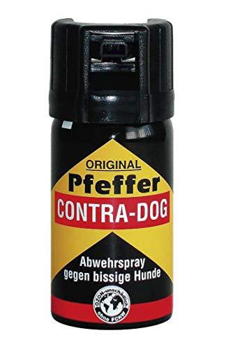 TW1000 Unisex– Erwachsene Pfeffer Contra-Dog Man Pfefferspray, farblos, 85mm
