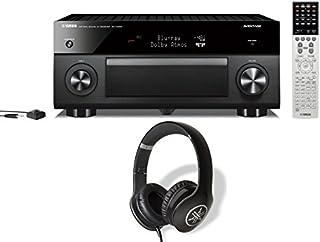 Yamaha RX-A2060 9.2 Channel Network AV Receiver and Yamaha PRO-300 Headphones (Black) Bundle