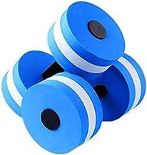 2Pcs/set Swimming EVA Blue Floating Dumbbell Water Aerobics Aquatic Barbell Fitness Exercise Water yoga Durable Stylish Fo...