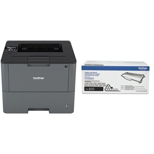 Brother HL-L6200DW Business Laser  Printer with High Yield Toner Bundle , 520 Sheet Capacity