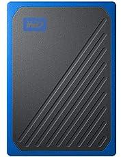 WD ポータブルSSD 500GB USB3.0 ブルー My Passport Go 外付け / 3年保証 【PS4 / Xbox Oneメーカー動作確認済】WDBMCG5000ABT-WESN