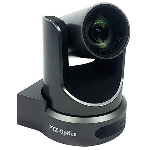 PTZOptics Live Streaming Cameras - PTZ Cameras with SDI, HDMI and IP Control + PoE (12X-SDI, Gray)