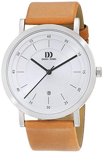 Danish Design 3314529 - Orologio da polso Uomo, Pelle, colore: Marrone