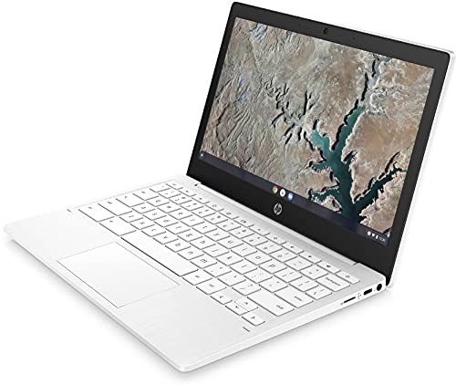 HP Chromebook MT8183 - (4 GB/64 GB EMMC Storage/Chrome OS) 11a-na0006MU Chromebook (11.6 inch, Snow White, 1.07 Kg)
