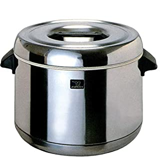 ZOJIRUSHI RDS-400 Thermal Rice Warmer, Stainless Steel 4-Liter (B00028X41M) | Amazon price tracker / tracking, Amazon price history charts, Amazon price watches, Amazon price drop alerts