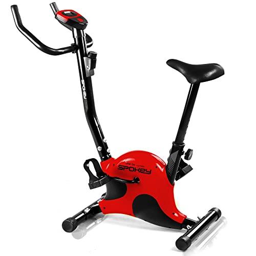 Spokey ONEGO Bicicleta Estática, color rojo
