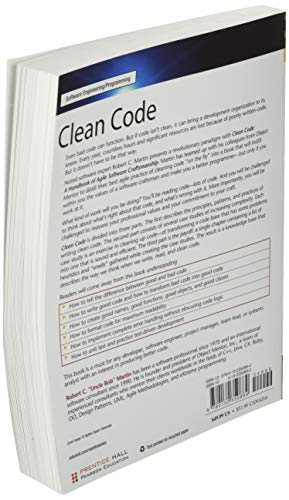 Clean Code: A Handbook of Agile Software Craftsmanship (Robert C. Martin) (Robert C. Martin Series)