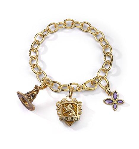 Noble Collection nn7714–Harry Potter Pulsera Cuervo Lumos tassorosso