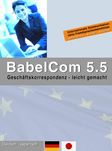 BabelCom 5.5 Personal Deutsch-Japanisch  (PC+MAC
