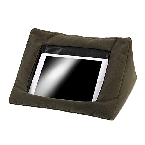 GFYWZ Pillow Stand Holder, Comfy Ipad Compatible Cushion Pillow Stand, Suitable for All Tablet Devices Perfect to Use Around The Home,Gray