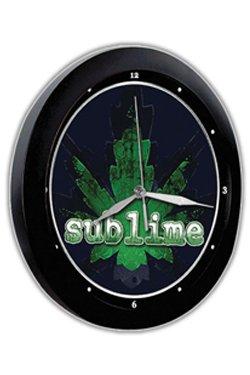Sublime - Pot Leaf Wanduhr