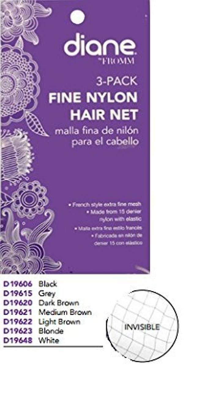 Diane Fine Nylon Hair Nets - Medium Brown (3 Pack), Model: , Outdoor/Garden Store, Repair & Hardware