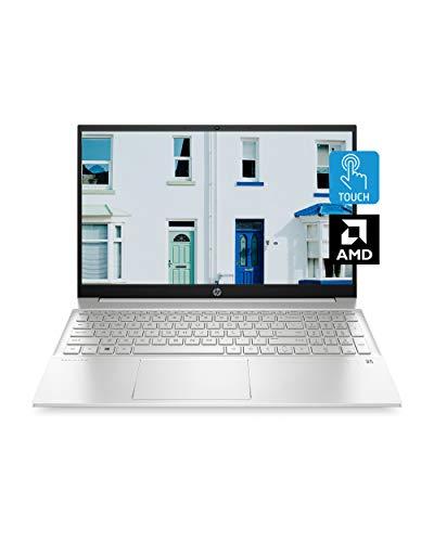 HP Pavilion 15 Laptop, AMD Ryzen 5 4500U Processor, 8 GB RAM, 512 GB SSD Storage, 15.6-inch HD Touchscreen, Windows 10 Home, Micro-Edge Display, Backlit Keyboard (15-eh0010nr, 2020)