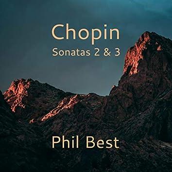 Chopin Sonatas 2 & 3