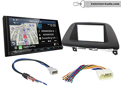 Save %45 Now! Kenwood Excelon DNX996XR Double Din Radio Install Kit With Apple CarPlay, Android Auto...