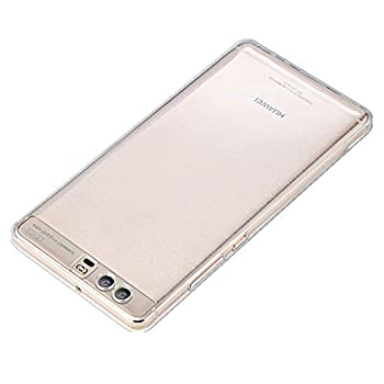 iCoverCase Compatible with Huawei P10 Plus Case Ultra-Thin Silicon Back Cover [Clear Transparent] Lightweight Protective Soft TPU Case for Huawei P10 Plus