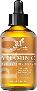 ArtNaturals Enhanced Vitamin C Serum with Hyaluronic Acid, 1 oz.
