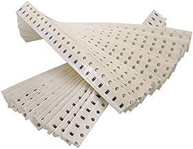 MCIGICM 0603 SMD Resistor Kit,720pcs 0603 SMD chip Fixed Resistor Kit Assorted Kit 1ohm-10M ohm 1% 36valuesX20pcs=720pcs, Sample Kit Sample Bag
