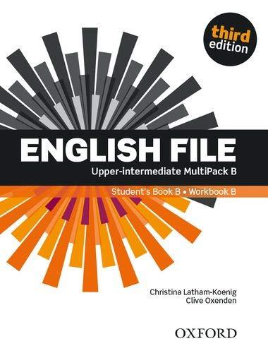 English File : Upper-Intermediate MultiPack B - Student's Book B/Workbook B - 3rd Edition