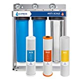 Express Water Whole House Water Filter – 3 Stage Anti Scale Home Water Filtration System –...