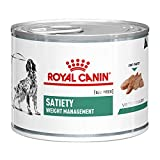 Royal Canin Satiety Weight Management Dog Food 12 x 195g Cans