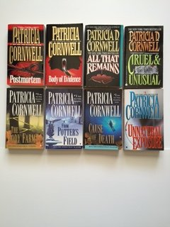 Patricia Cornwell (Scarpetta Set of 8) Postmortem; Body of Evidence; ... Cause of Death; Unnatural Exposure