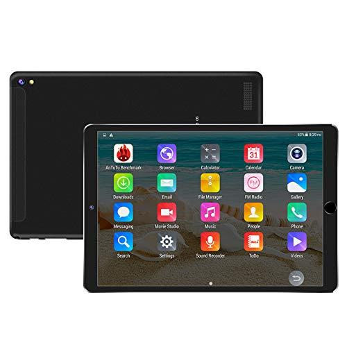 LIU Tableta Tableta Android de 10.1 Pulgadas con 32GB de Almacenamiento, Tarjeta Dual Sim, Procesador de 8 núcleos, Pantalla IPS HD de 1920x1200, GPS, Bluetooth
