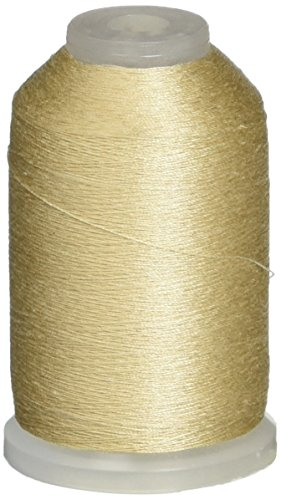YLI 22901-NAT 2-Ply Soft 60wt Touch Cotton Thread, 1000 yd, Natural