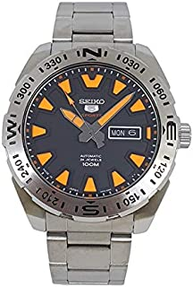 Seiko 5 Automatic Sports Black Dial Stainless Steel Watch