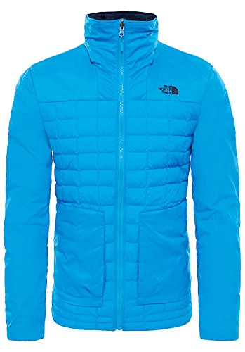 The North Face M Thermoball FZ Zip-in, Piumino Uomo, Blu (Blue Aster), S