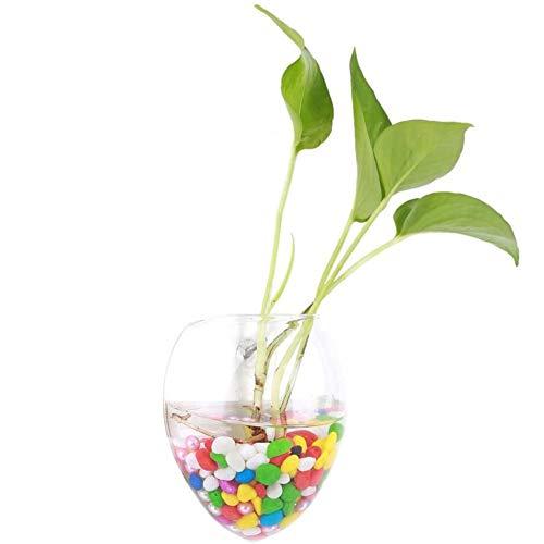 Opknoping vaas Vaas Plant Pots Garden Fles Vaas voor Planten Bloemen House Decoratie Glas Transparant,Clear