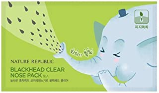 Nature Republic Blackhead Clear Nose Pack 30pcs Blackhead Removing Nose Patch Powerful Nose Strips Korea
