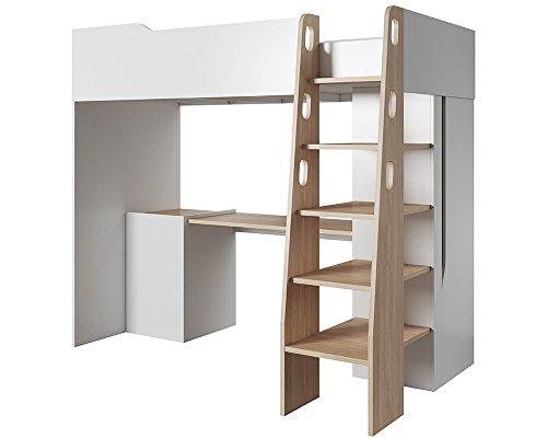 *Etagenbett BUBU Hochbett Multifunktionsbett Bett mit Schreibtisch (Ohne matratze)*