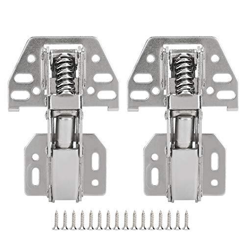 Brückenscharnier, Möbelzubehör Türbeschläge, hochwertige, robuste, langlebige Stahlblech-Doppelschicht-Galvanik für Schränke Schränke Schränke