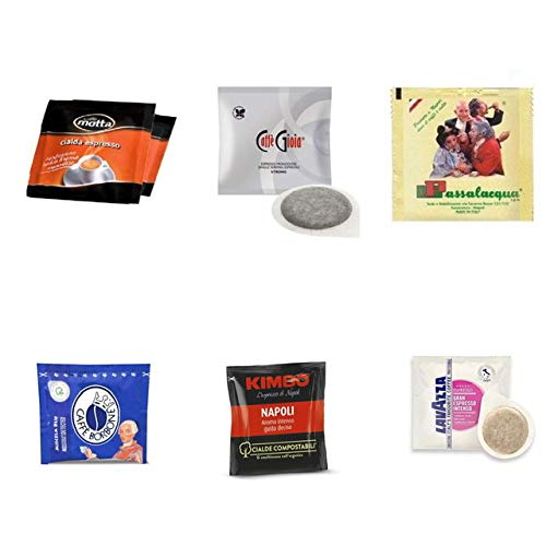 Espresso Pod Sampler Variety Pack (ESE Pods) 60 count