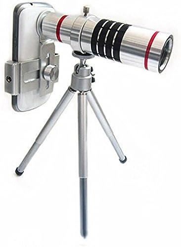 W telescope Télescope de Téléphone Mobile 18 Fois Téléobjectif Effets Photographiques avec un Trépied Trépied