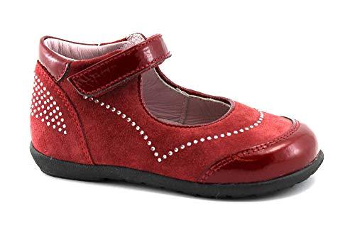 Ciao Bimbi 5027 rote Amaranth Sandale geschlossene Zehen Mädchen Träne Steckdose 19