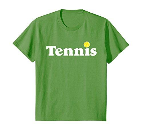 Kids Tennis Shirt 4 Grass