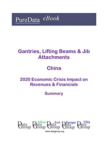 Gantries, Lifting Beams & Jib Attachments China Summary: 2020 Economic Crisis Impact on Revenues & Financials (English Edition)