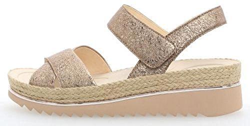 Gabor Shoes Damen Jollys Riemchensandalen, Mehrfarbig (ENGL.Rose), 35.5 EU