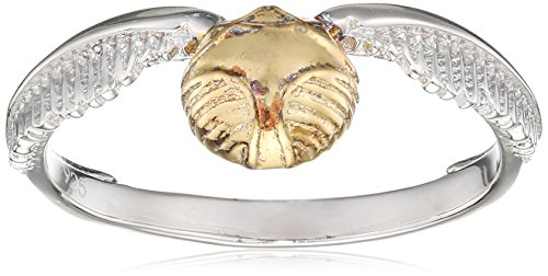 Harry Potter Snitch Dorada Anillo Plata 925
