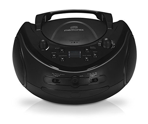 Memorex - MP3221G - 02810 - Portable CD Boombox...