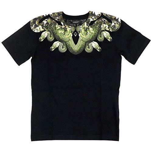 MARCELO BURLON Luxury Fashion Ragazzo 11160010B010 Nero Cotone T-Shirt | Autunno-Inverno 20