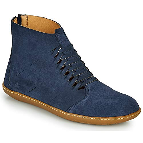 EL NATURALISTA EL VIAJERO Enkellaarzen/Low boots dames Blauw Laarzen