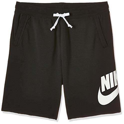 Nike Sportswear, Pantaloncini Uomo, Nero (Black/Black/White/White), S
