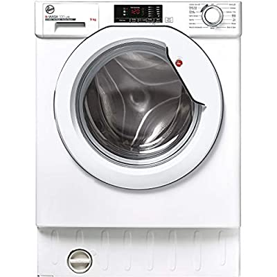 Hoover H-Wash 300 HBWS49D1E Integrated Washing Machine, 9KG, 1400RPM, White